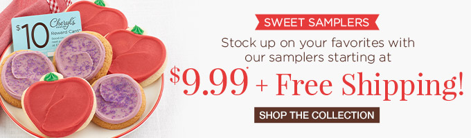 $9.99 + Free Shipping Samplers