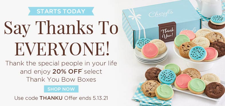 20% off - Thank You Gifts