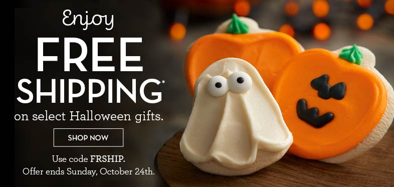Ends Sunday! Free Shipping select Halloween gifts