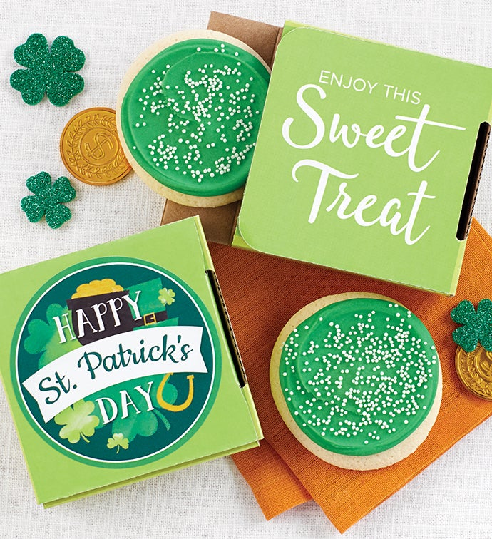 St. Patrick's Day Cookie Card