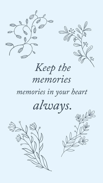 Keep the Memories