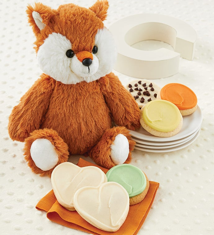 Welcome Baby Fox Plush