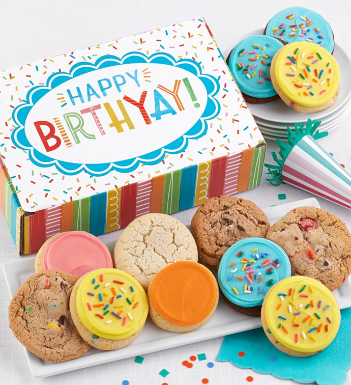 Happy Birth-Yay Cookie Box