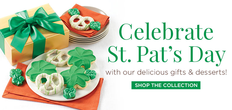 St Pat Cookie Pretzel