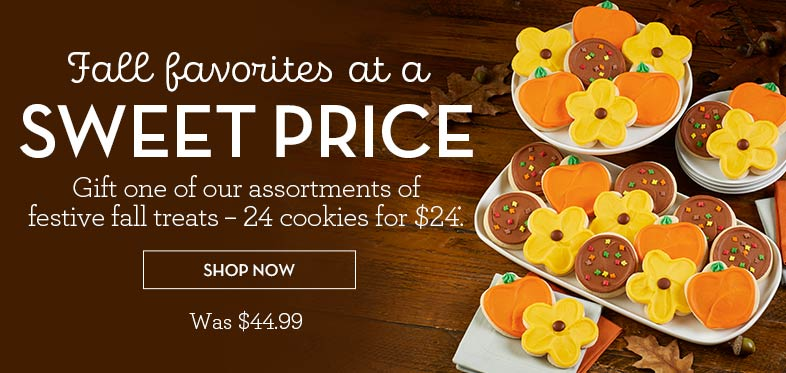 24 for $24 Fall Cut-Outs