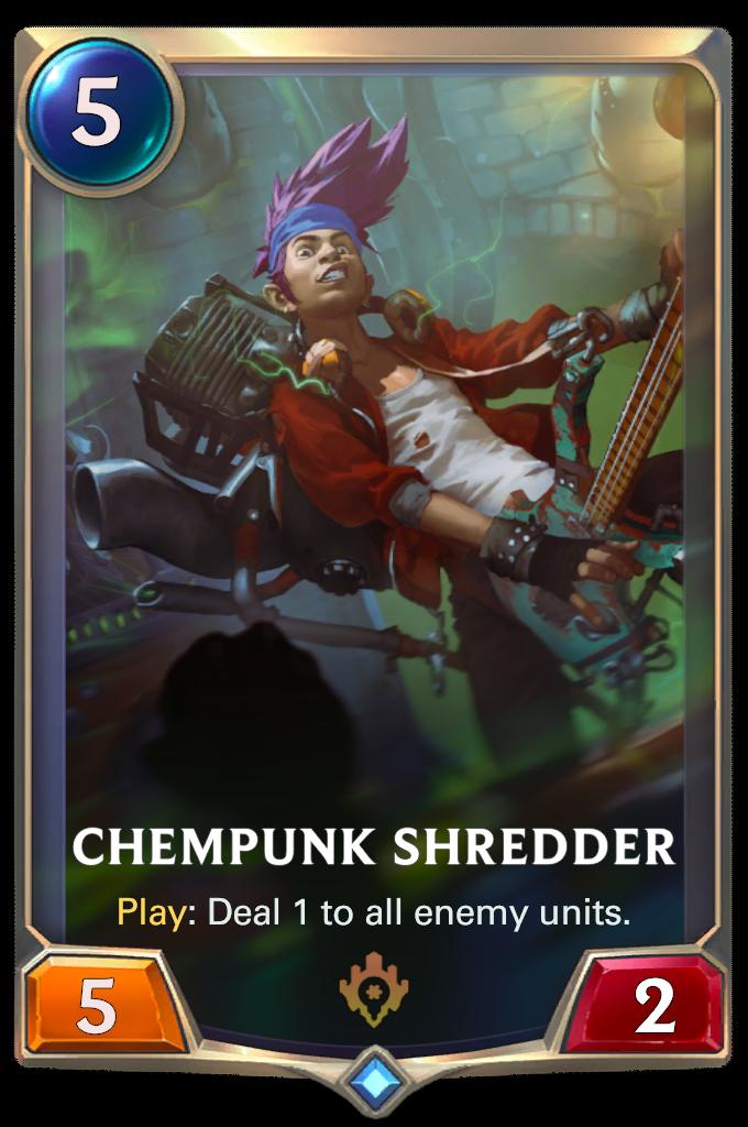 Химпанк-гитарист (Chempunk Shredder)