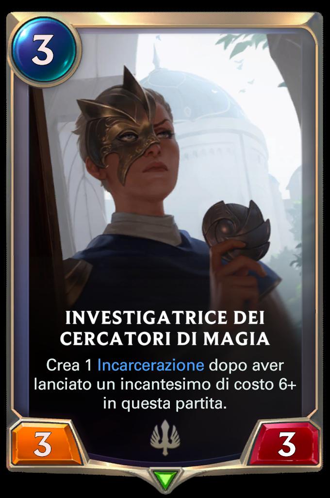 Investigatrice dei Cercatori di magia