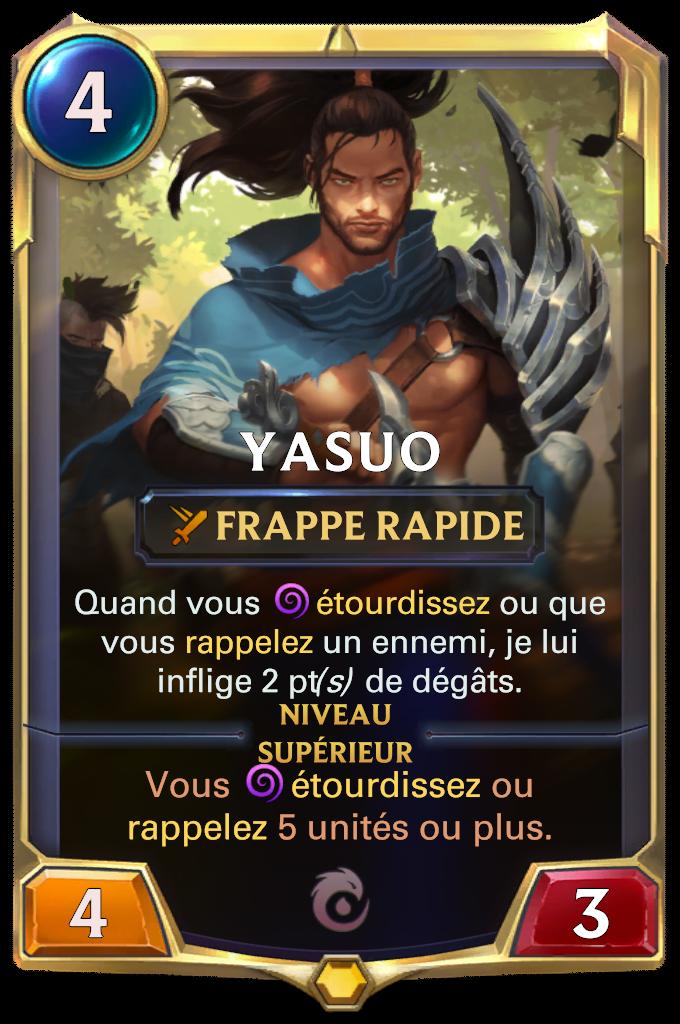 Yasuo (niveau 1)