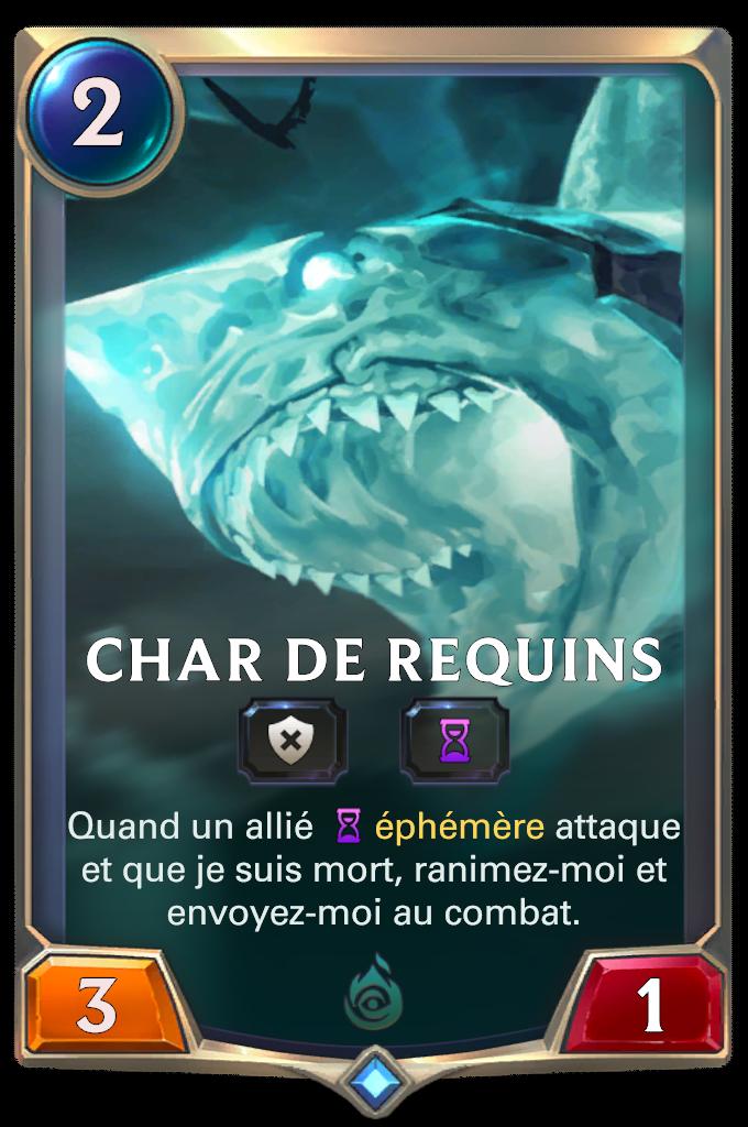 Char de requins