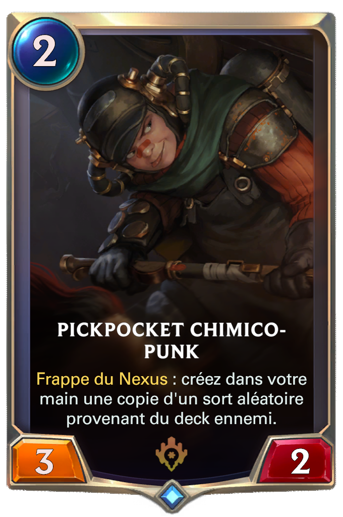 Pickpocket chimico-punk