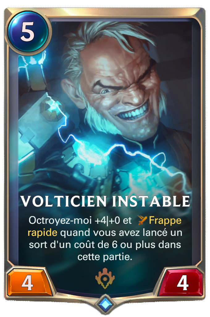 Volticien instable