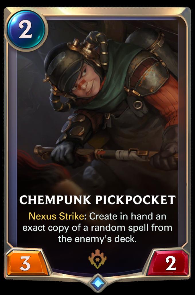Химпанк-карманник (Chempunk Pickpocket)