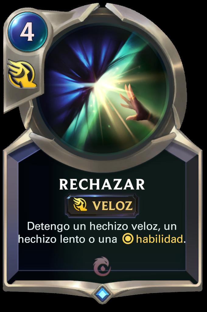 Rechazar