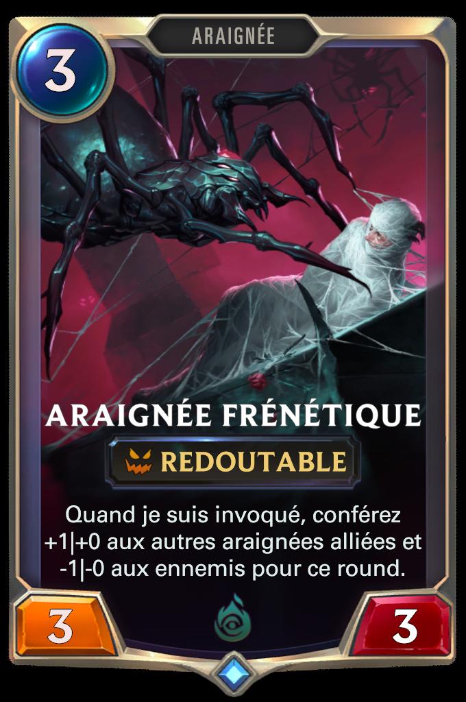 Araignée frénétique