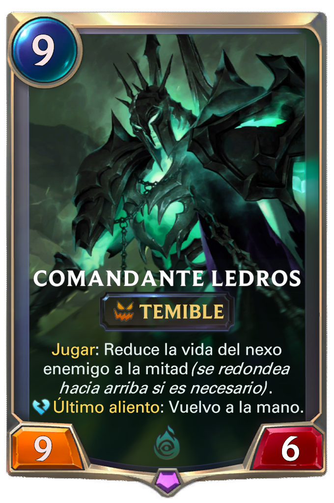 Comandante Ledros