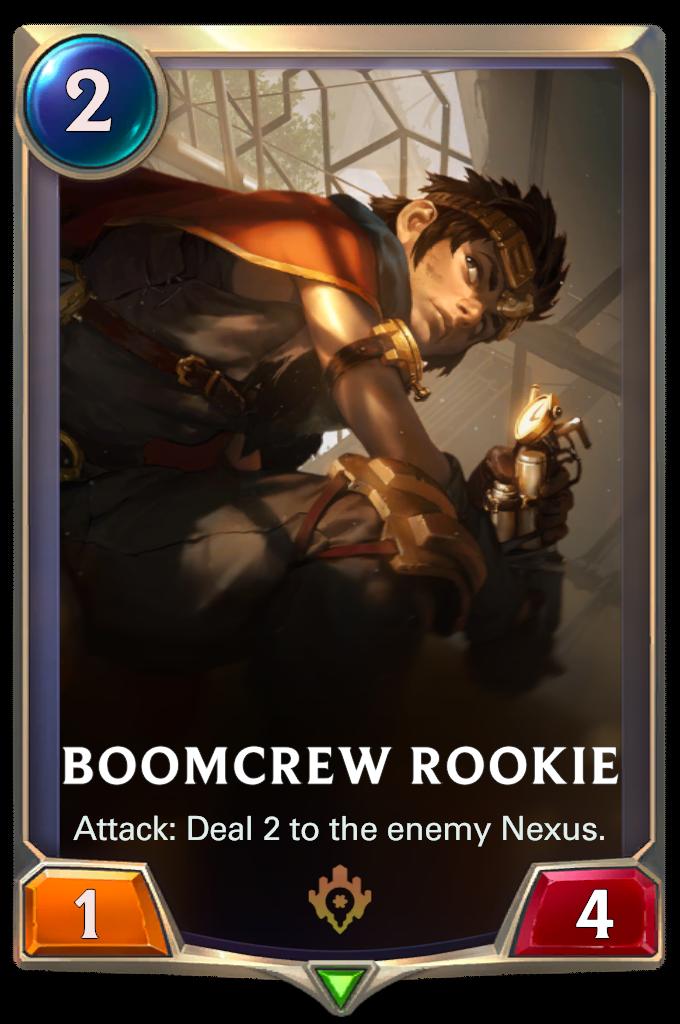 Новичок из взрывотряда (Boomcrew Rookie)