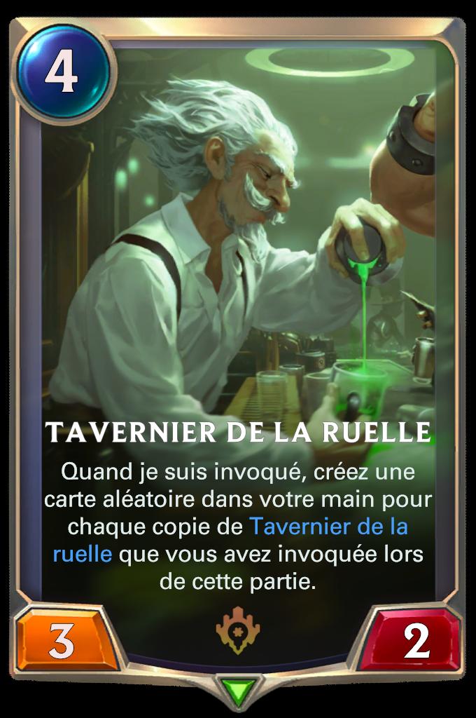Tavernier de la ruelle