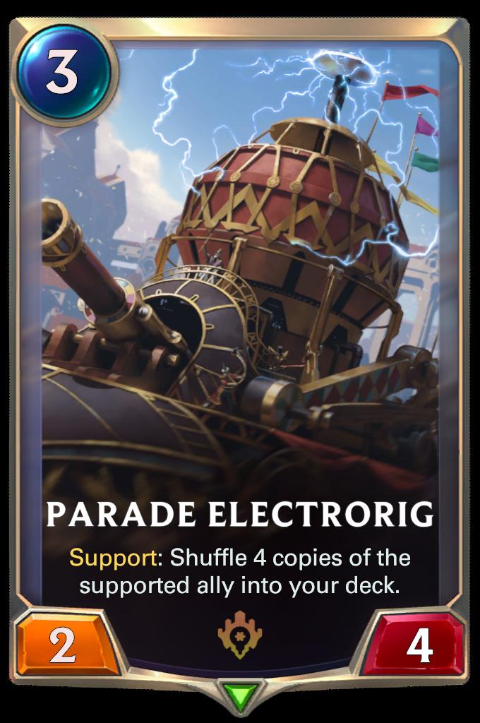 Праздничное приспособление (Parade Electrorig)