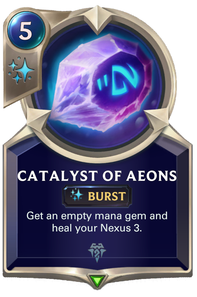 Catalyst of Aeons