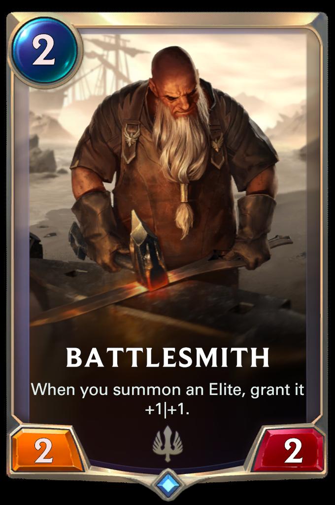 Боевой кузнец (Battlesmith)