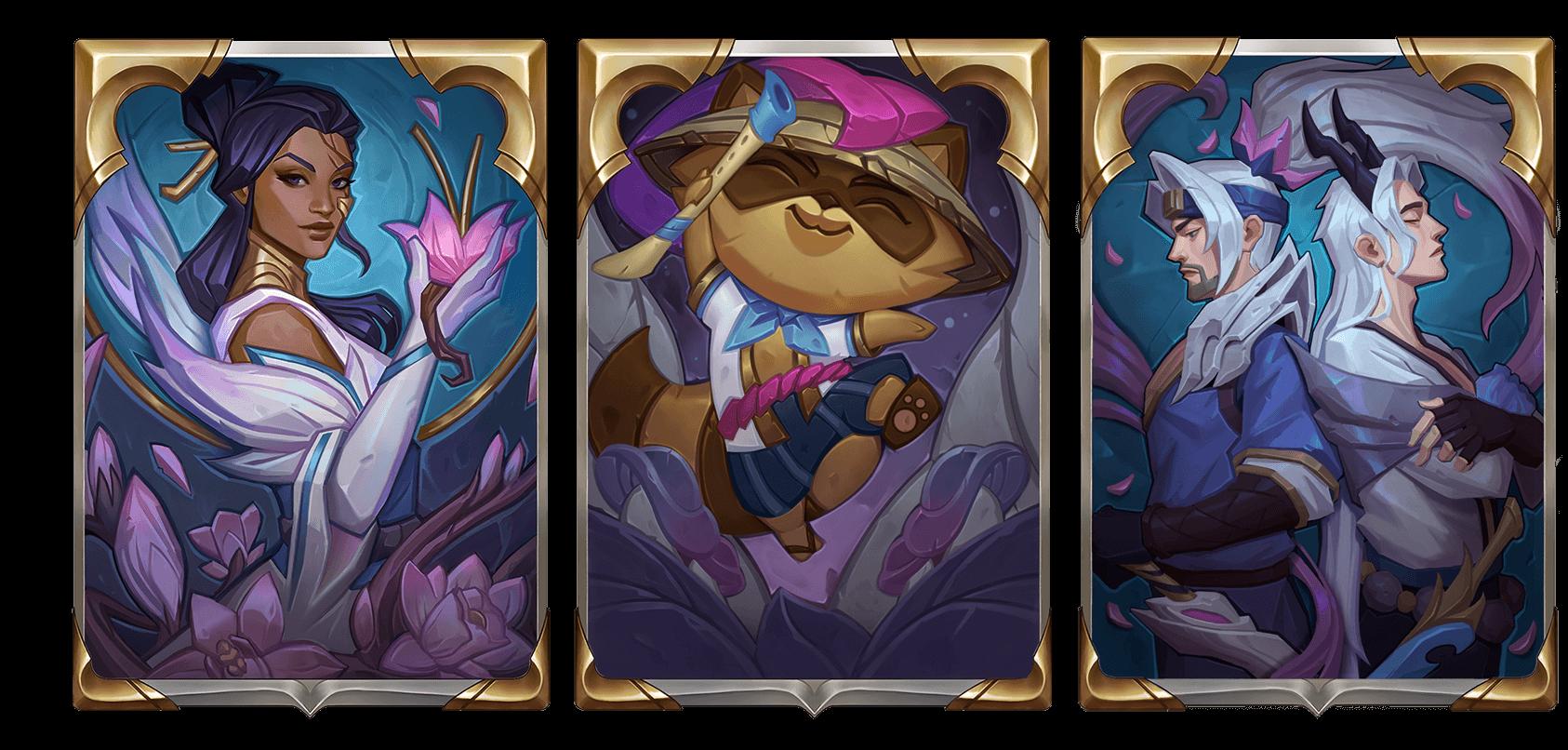 Legends of Runeterra Spirit Blossom Card Backs