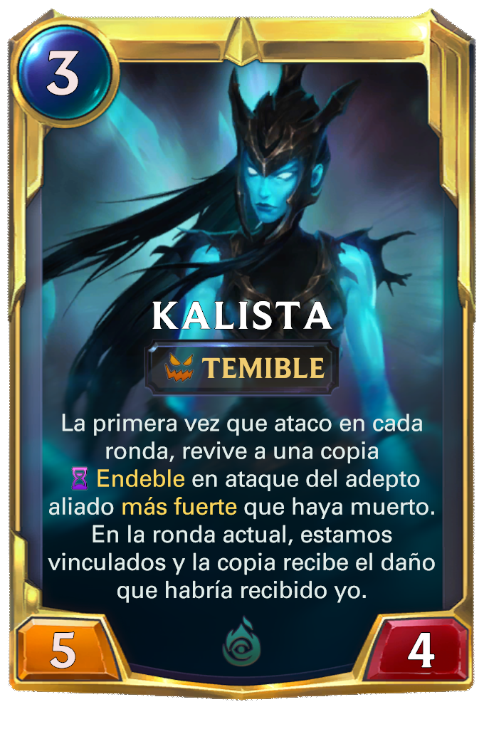 Kalista (nivel 2)