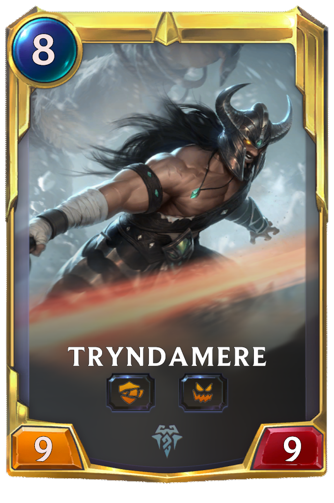 Триндамир (2 уровня) (Tryndamere)