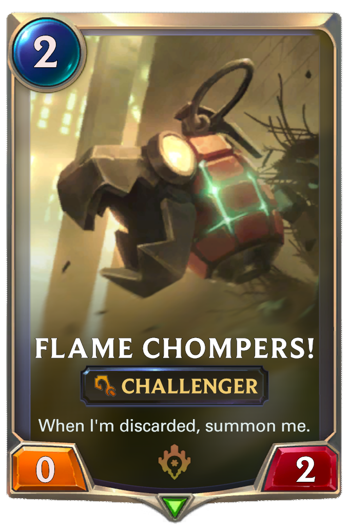 Flame Chompers