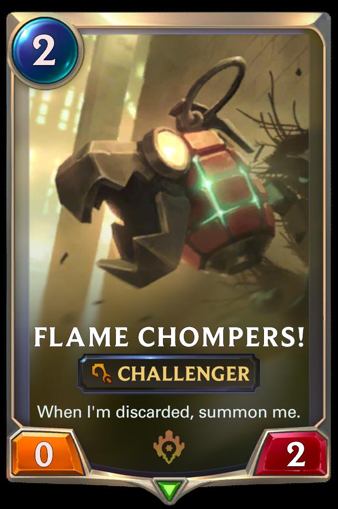 """""""Огненные кусаки"""" (Flame Chompers)"""