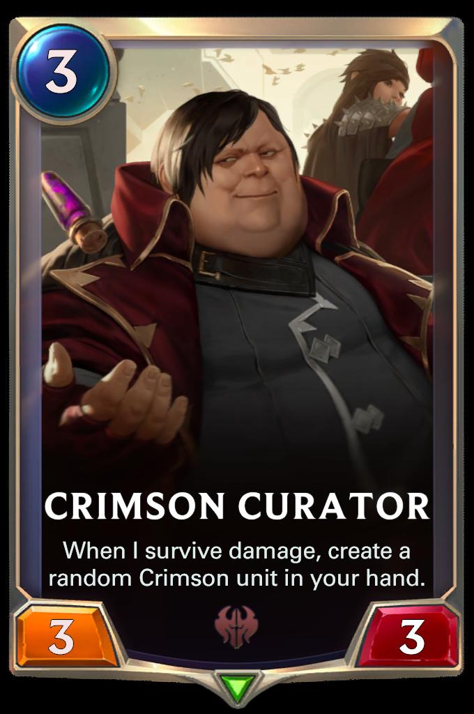 Алый хранитель (Crimson Curator)
