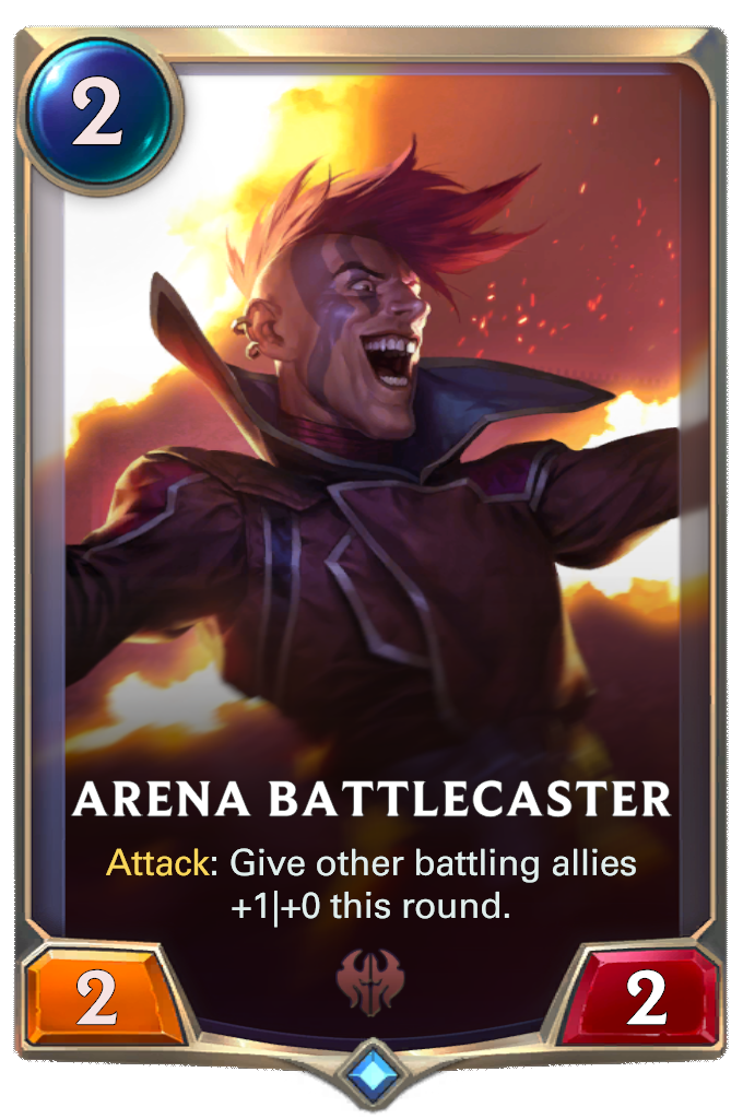 Комментатор боев (Arena Battlecaster)