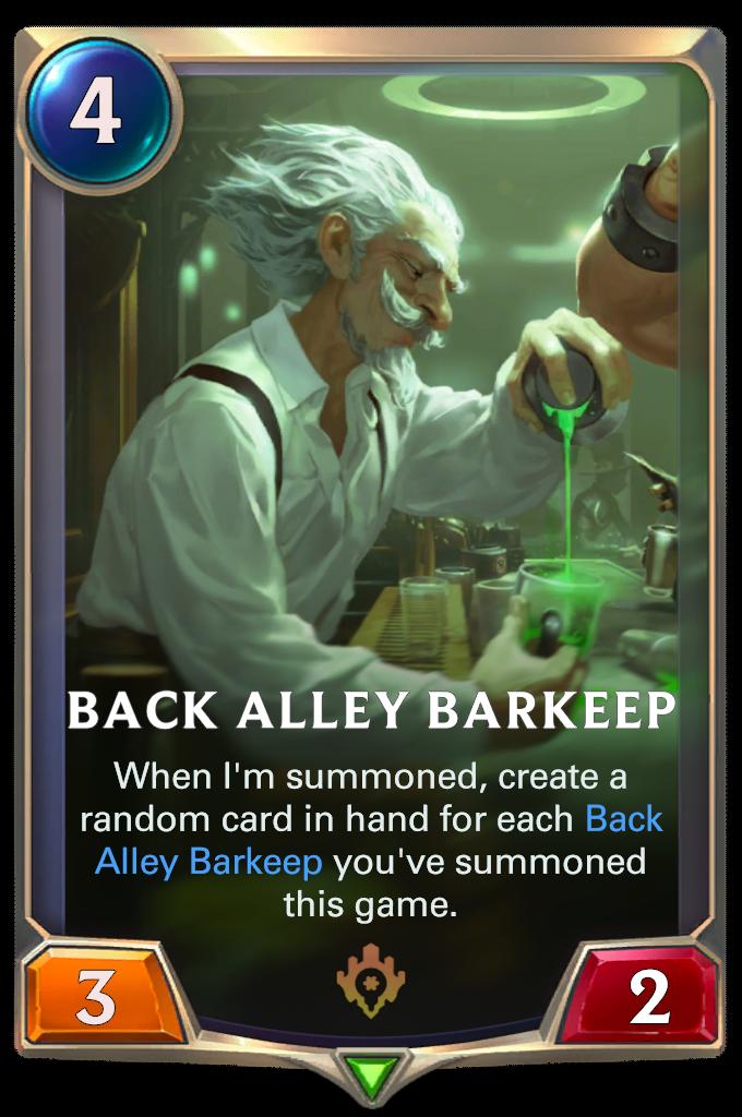 Back Alley Barkeep