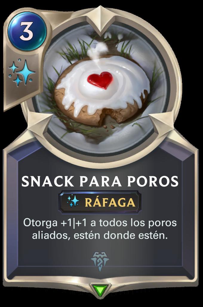 Snack para poros