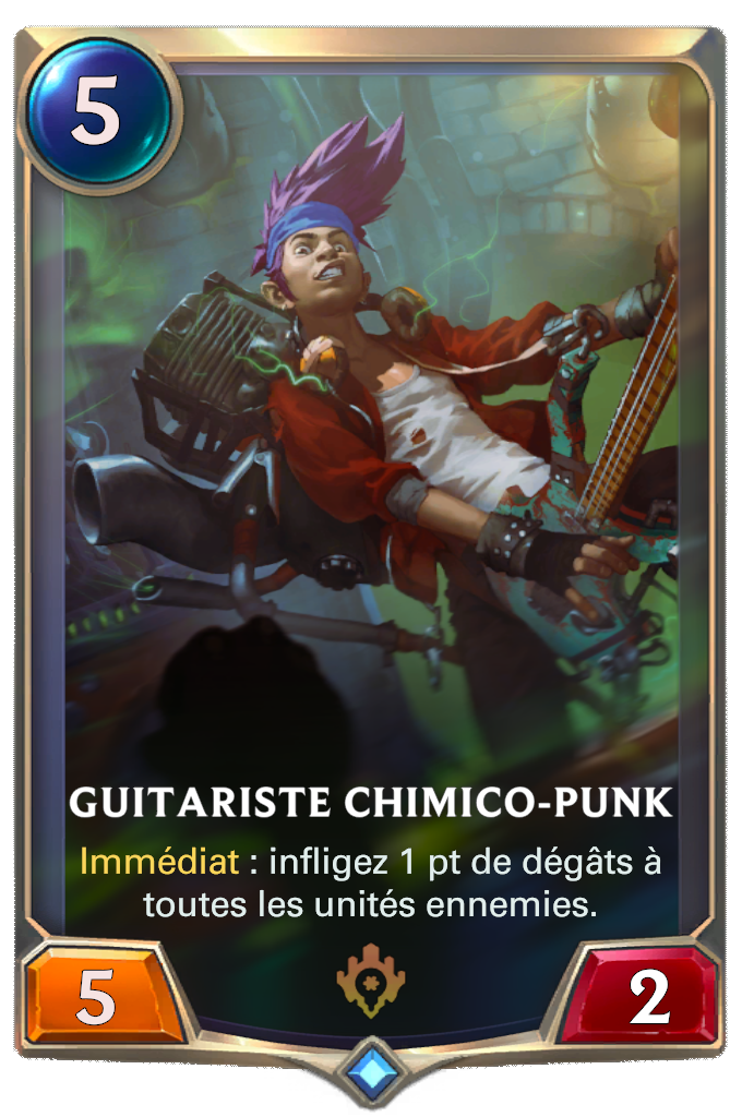 Guitariste chimico-punk