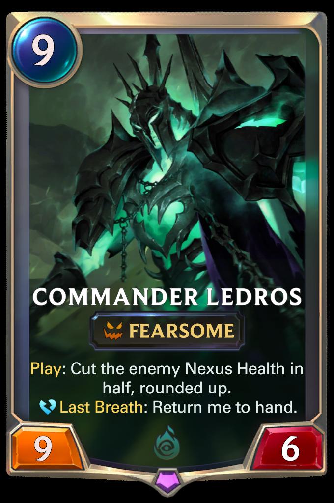 Командир Ледрос (Commander Ledros)
