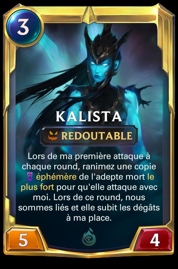 Kalista (niveau 1)