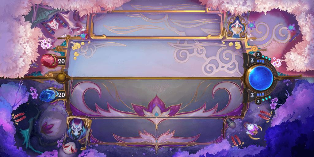 Legends of Runeterra Spirit Blossom board