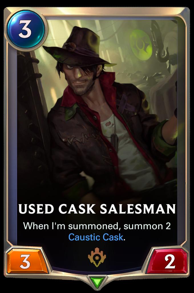 Used Cask Salesman