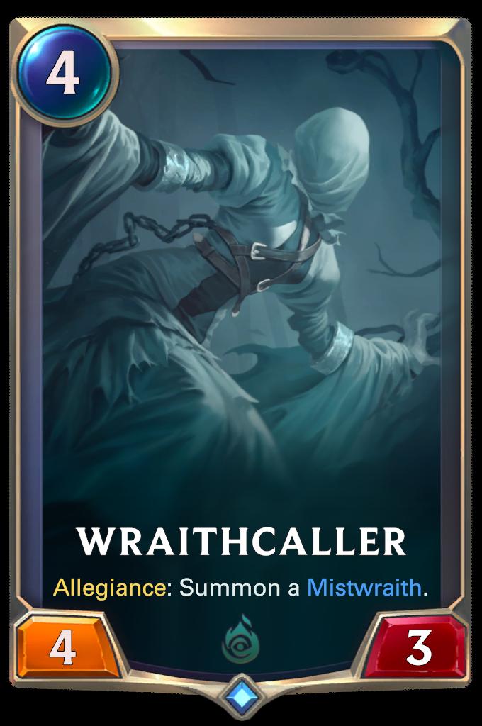 Созывающая призраков (Wraithcaller)