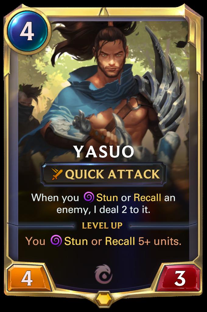 Ясуо (Yasuo) (1 уровня)