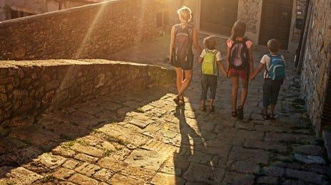 Famille lors d'une expatriation