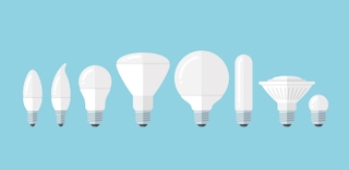 Light bulb shape options
