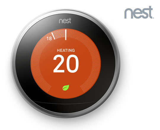 The Nest Learning Thermostat from Shell Energy.