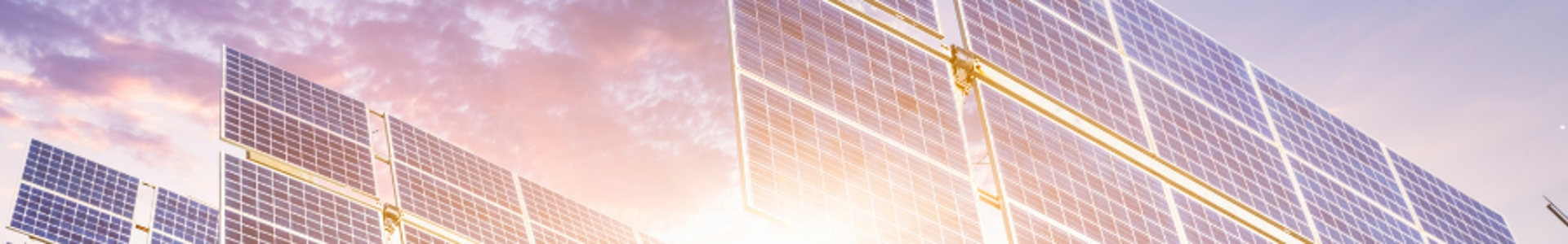 Businesses using solar to generate energy.