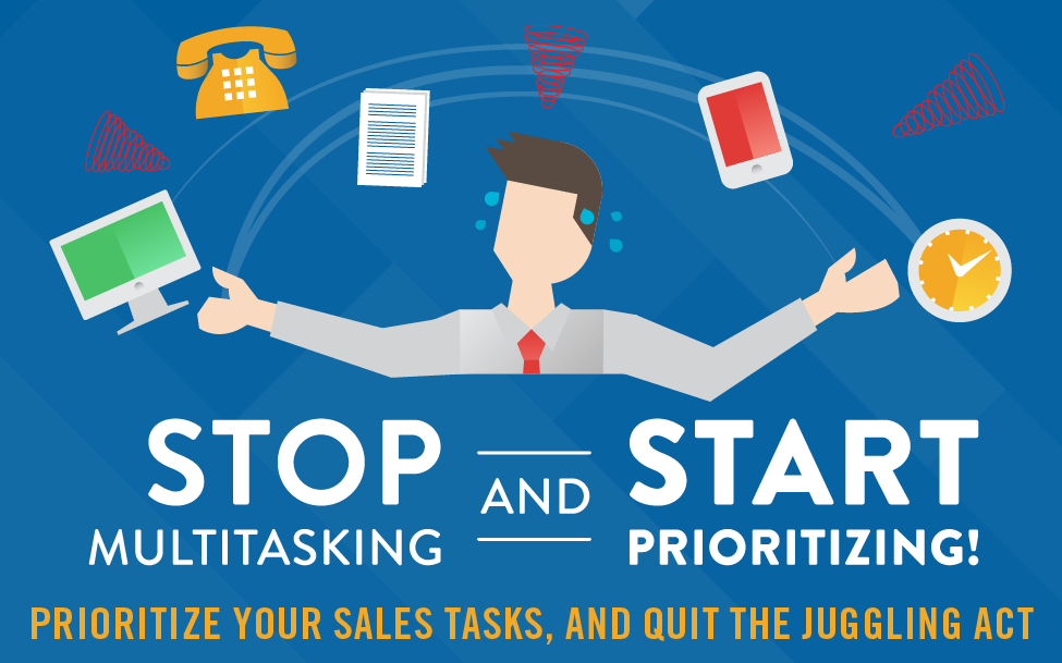 Infographic: Why salespeople need to quit the juggling act