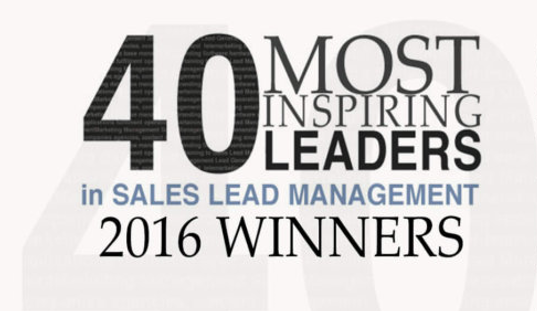 Velocify Execs Secure Top Placement on List of 40 Leaders in Sales Lead Management