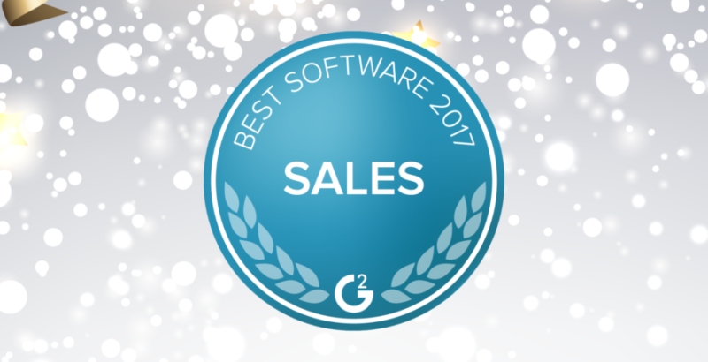 Velocify Named Best Sales Software by G2 Crowd