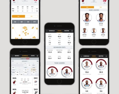 Miami Heat App screenshots