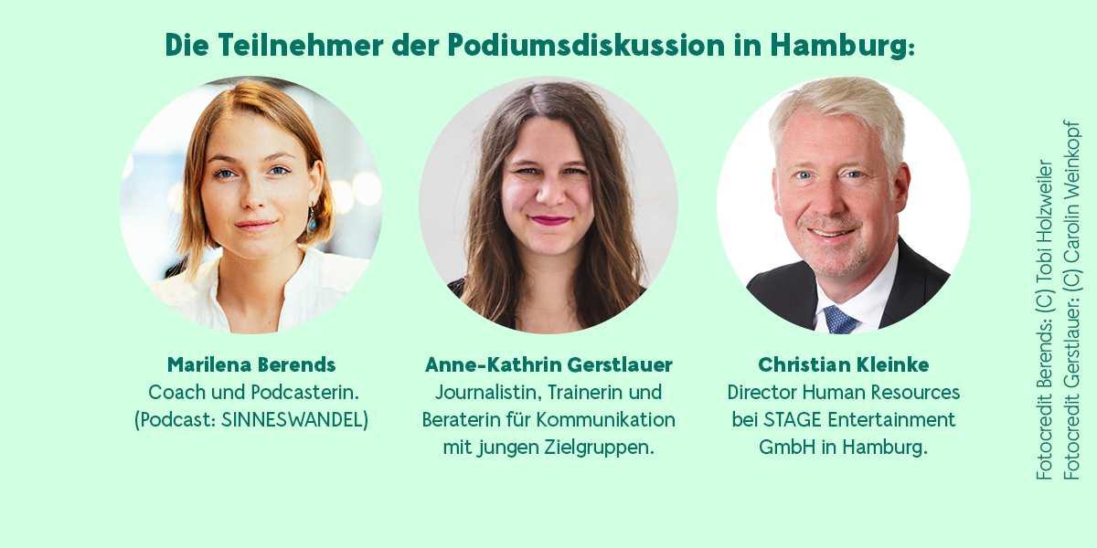 Teilnehmer Podiumsdiskussion Hamburg