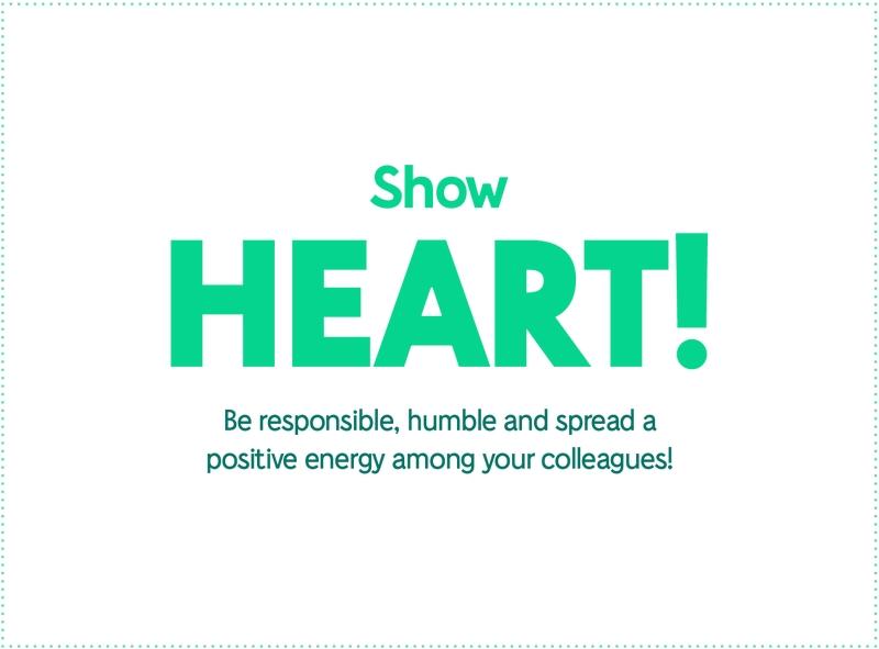 Show Heart!